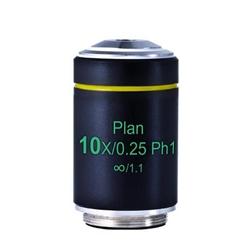 Phase 10x Microscope Objective Lens