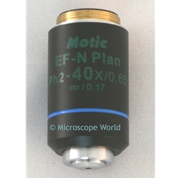 Phase Contrast 40x Microscope Objective Lens