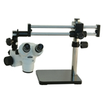SMZ-168 Stereo Zoom Microscope on Ball-Bearing Boom Stand